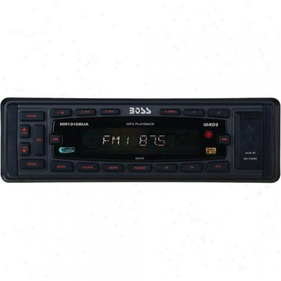 Boss Audio Marine Digital Media Receiver Ipod Control Black Mr1315bua