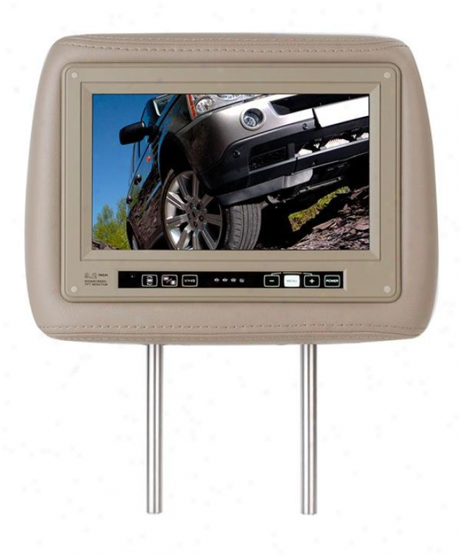 Boss Audio One Universal Headrest With Pre-installted 9.2-inch Widescreen Tft Mo