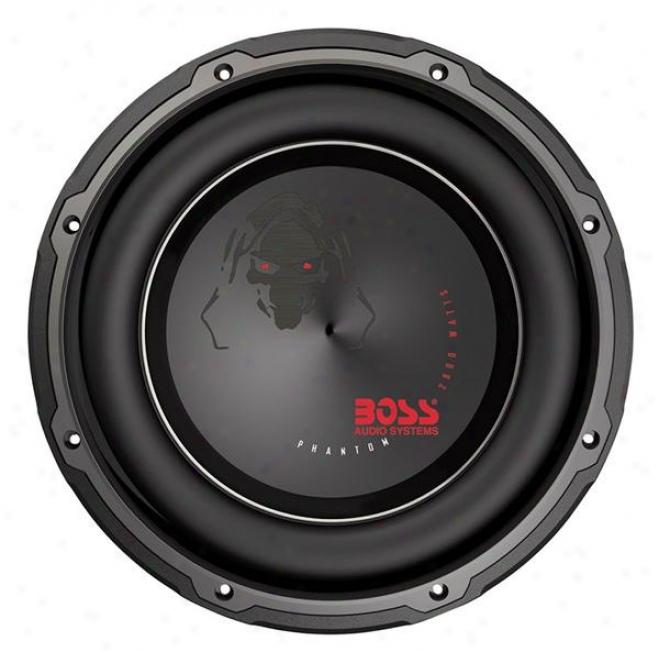 """Boss Audio P12dvc 12"""" Dual 4-ohm Voice Coil Subwoofer"""