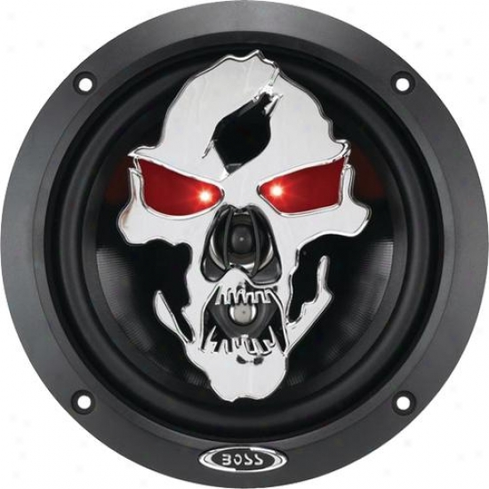 "Boss Audio Phantom Skull 6.5"" 3-way Car Speaker - Sk653"