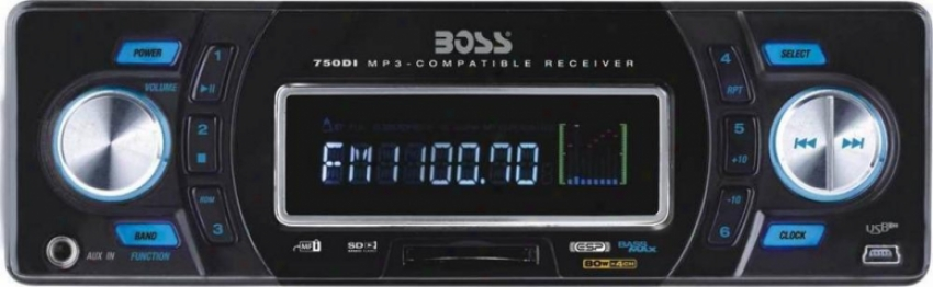 Boss Audio Solid State Mp3-compatible In-dash Digital Media W/built-in Ipod Dock