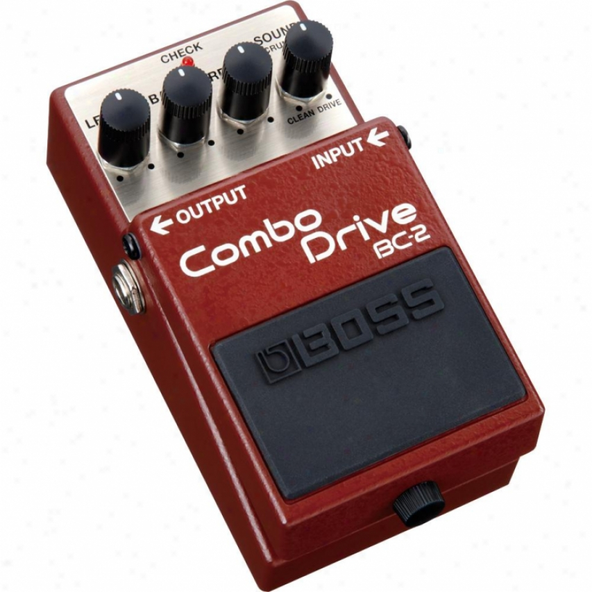 Boss Bc-2 Combo Drive Guitar Pedal