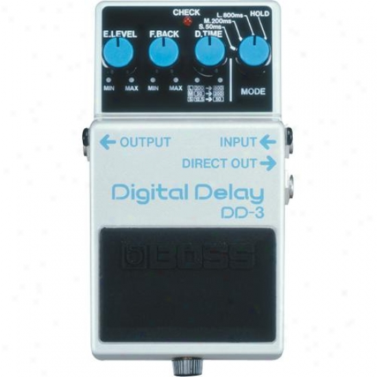 Superintendent Dd-3 Digital Delay Pedal