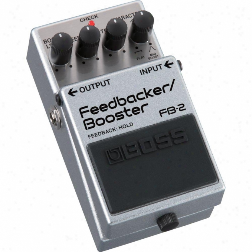 Boss Fb-2 Feedbacker/booster Guitar Pedal