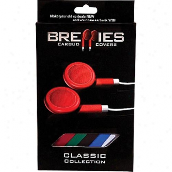 Brepps Breppies Clasdic Earbud Covers For Standard Ipod - Iphone - Ipax Earphone