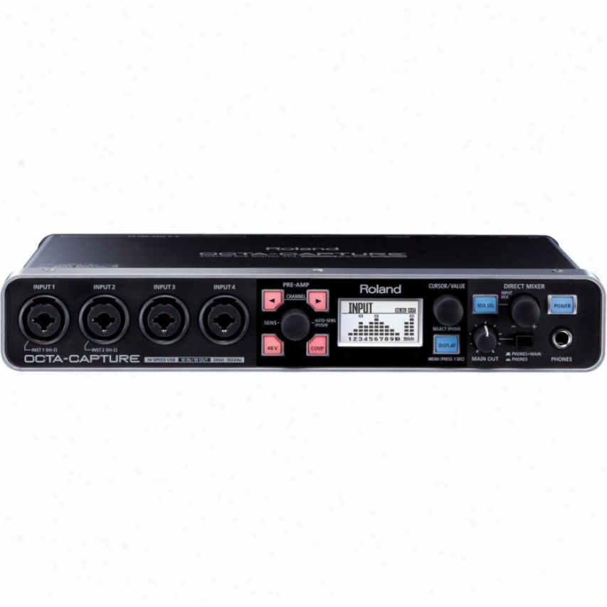 Cakewalk Ua-1010 Octa-capture Usb 2.0 Audio Interface By Roland