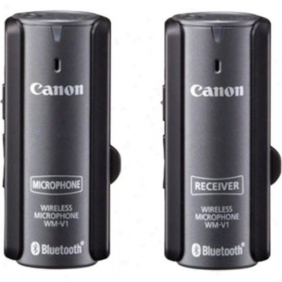 Canon Wireless Microphone System Wm-v1