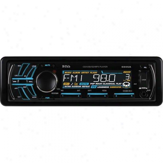 Car Single-din Cd/mp3 Am/fm Receiver Usb/sd Memiry Card, Aux