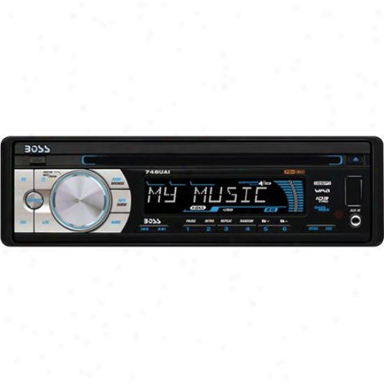 Car Single-din Cd/mp3 Am/fm Receiver Usb/sd Memory Card