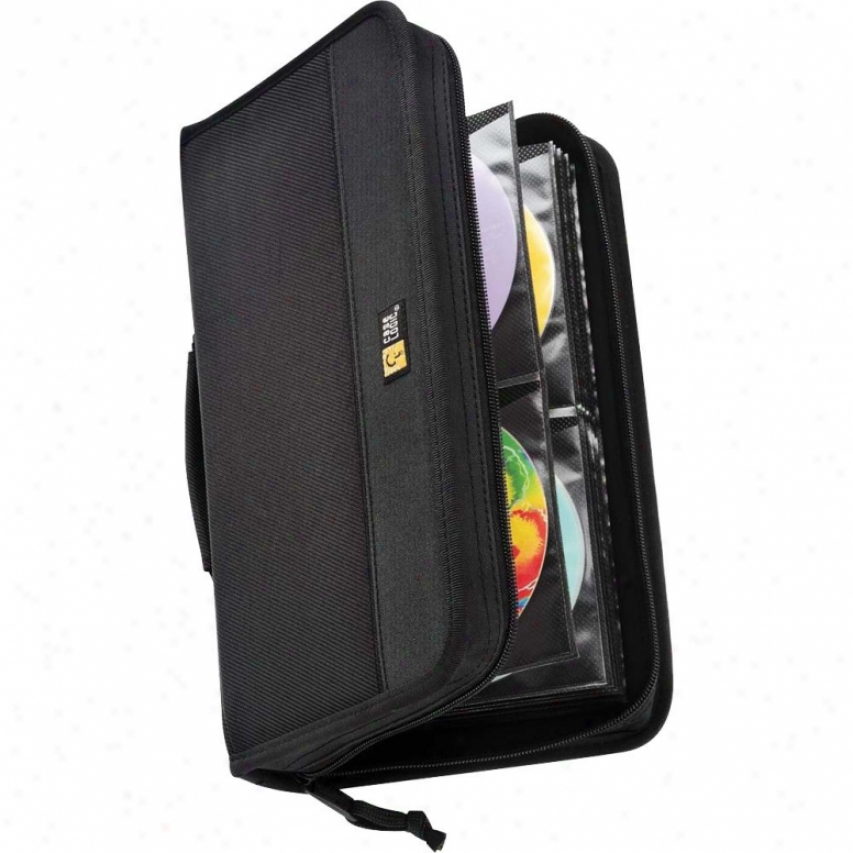 Case Logic Cdw-64 Nylon Cd Wallet (holds 64 Cds)