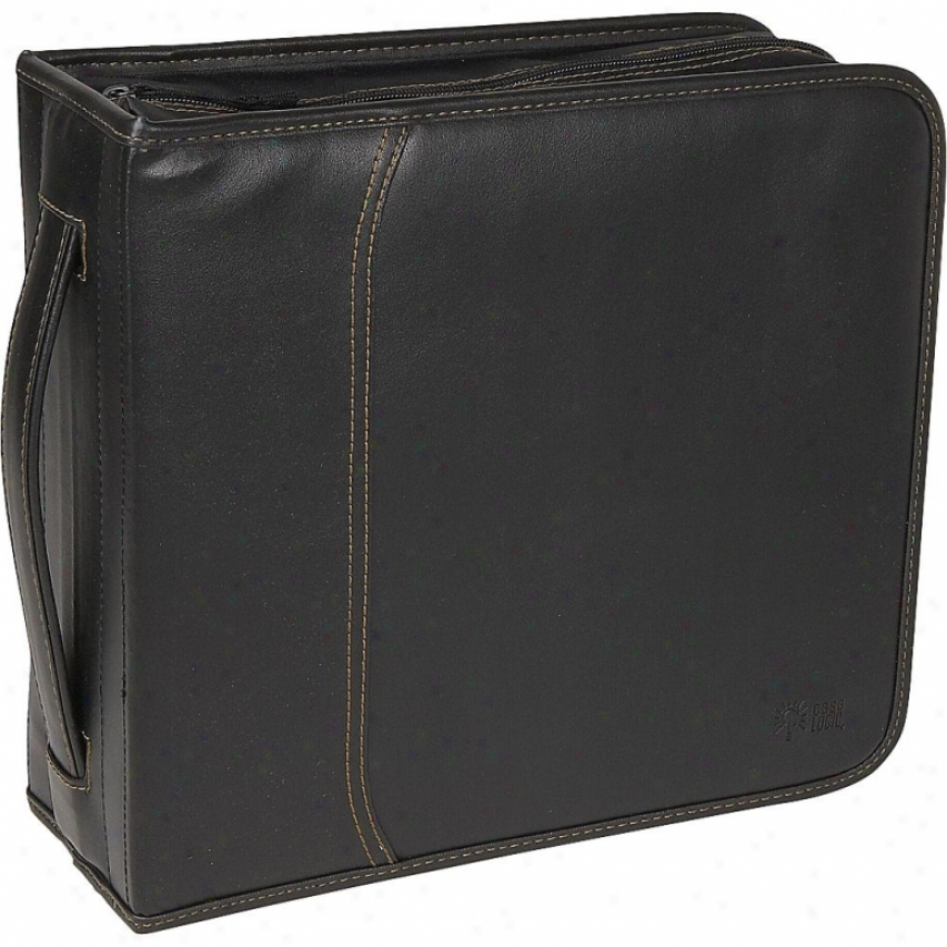 Case Logic Ksw-320 320 Capacity Cd Wallet - Black