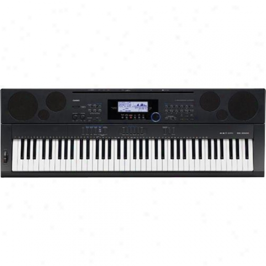 Casio 76-key Workstation Piano Keyboard Wk-6500