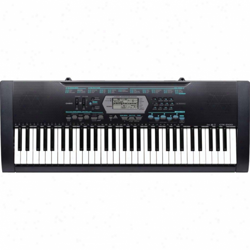 Casio Ctk-2100 61 Key Standard Keyboard