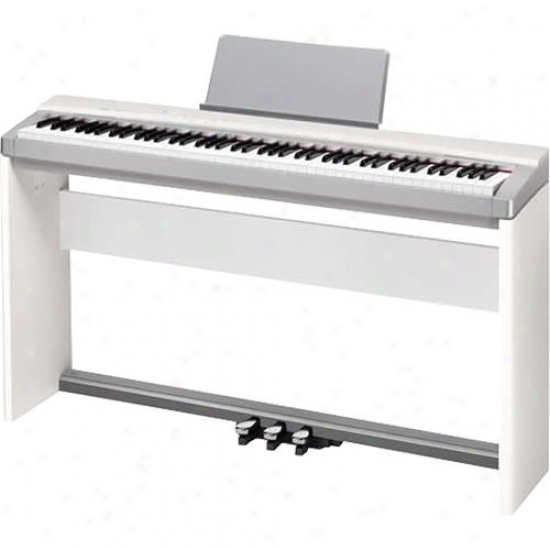 Casio Px130csspw Privia Digital Piano White Limited Edition