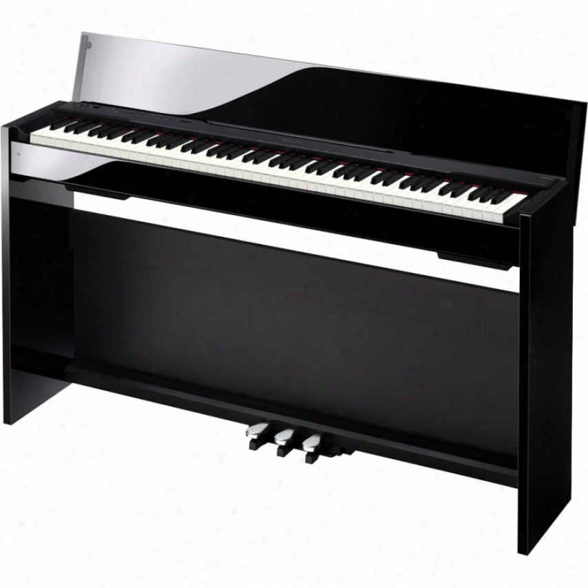 Casio Px830-bp Privia Digital Home Piano - Polished Black Finish