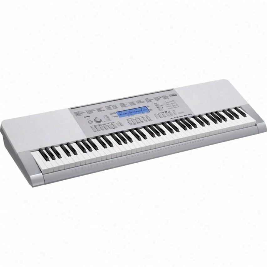 Casi0 Wk-225 76-key Touch Response Portable Keyboard