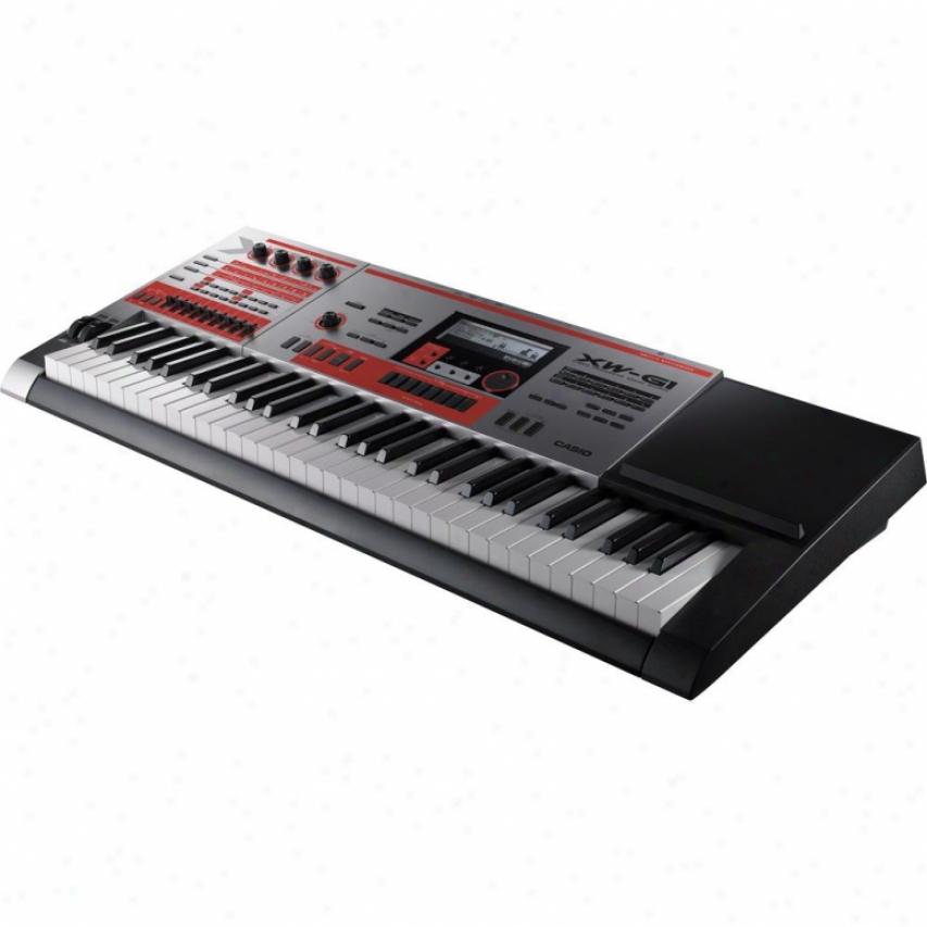 Casio Xw-g1 61-key Furrow Synthesizer