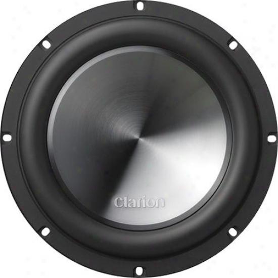 """Clarion 10"""" Single Voice Coil 4-ohm Subwoofer"""