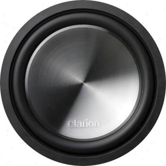 """Clarion 12""""; Dual 4-ohm Voice Coil Subwoofer"""