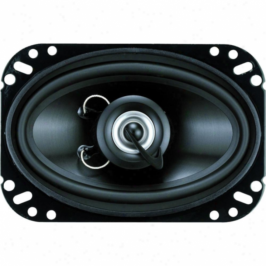 Clarion 4-in X 6-in Two Way Speaker System W/mipp Cone Woofers