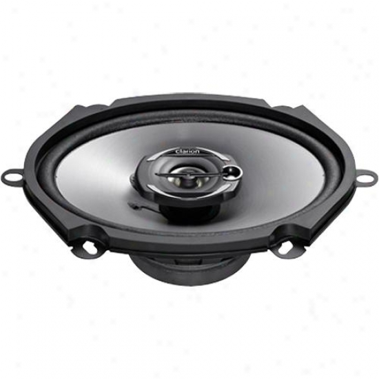 """Clarion 5 X 7"""" Coaxial Car Speakers System Srg5732c"""