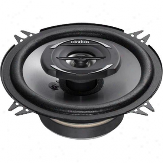 "Clarion 5.25"" Coaxiap Car Speakers System Srg1322r"