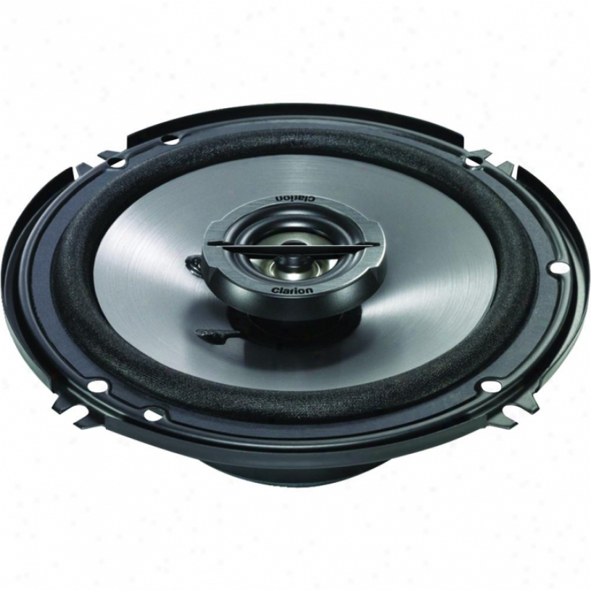 Clarion 6-1/2-in Coaxial 2-way Speaker System