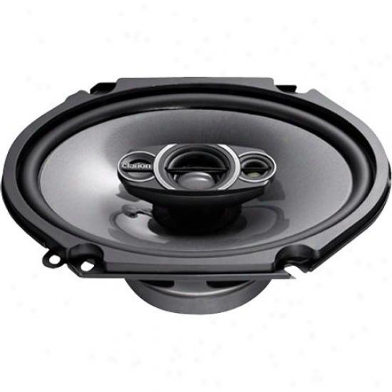 Clarion 6 X 8 3-way Car Speaker System Srq6832c