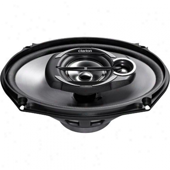"""Clarion 6 X 9"""" Coaxial Car Speakers System Srg6932r"""