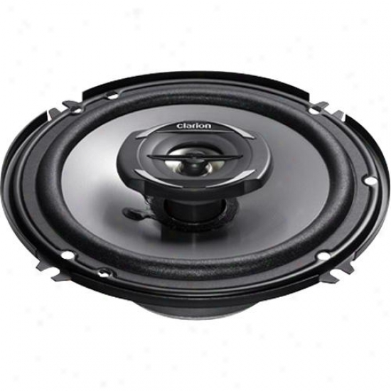 """Clarion 6.5"""" Coaxial Car Speakers System Srg1622r"""