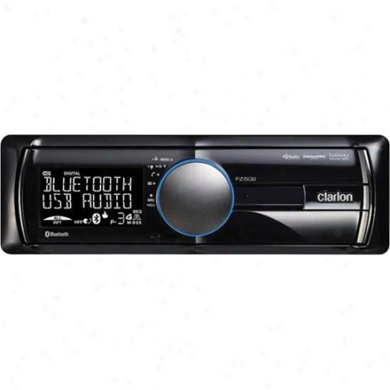 Clarion Bluetooth Usb Mp3 Wma Car Receiver Fz502