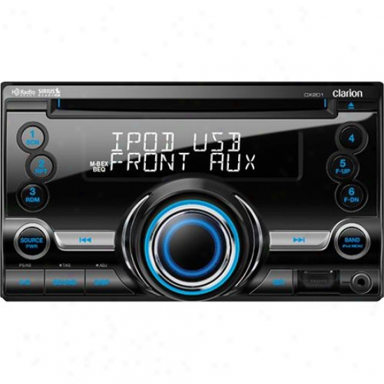Clarion Cx201 2-din Cd/usb/mp3 Car Stereo Receiver