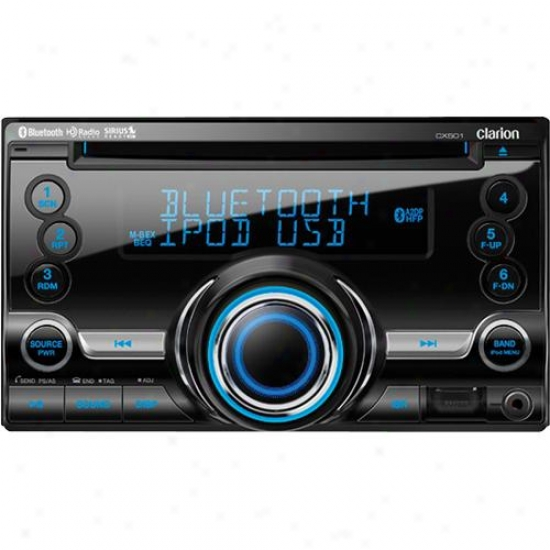 Clarion Cx501 2-din Bluetooth Cd/usb/mp3/qma Car Stereo Receiver