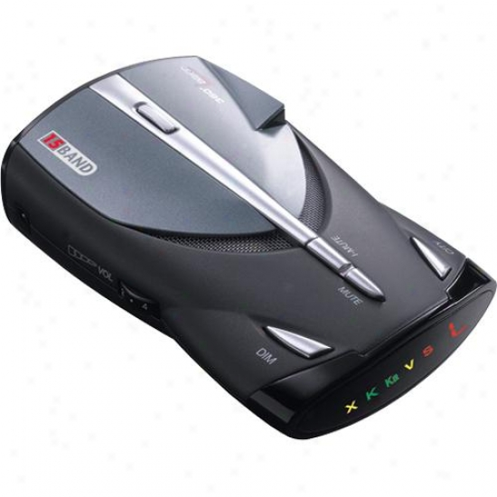 Cobra Xrs-9445 14 Band Radar/laser Detector With Voice Alert