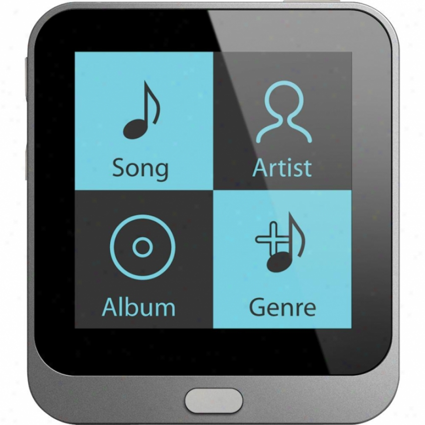 "Coby 4gb 1.44"" Touchscreen Video Mp3 Player - Mp800-4g"