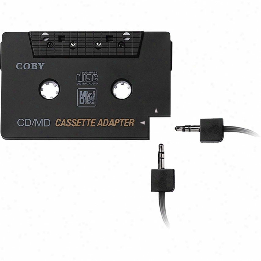 Coby Audio Casssette Playthrough Adapter Ca-747