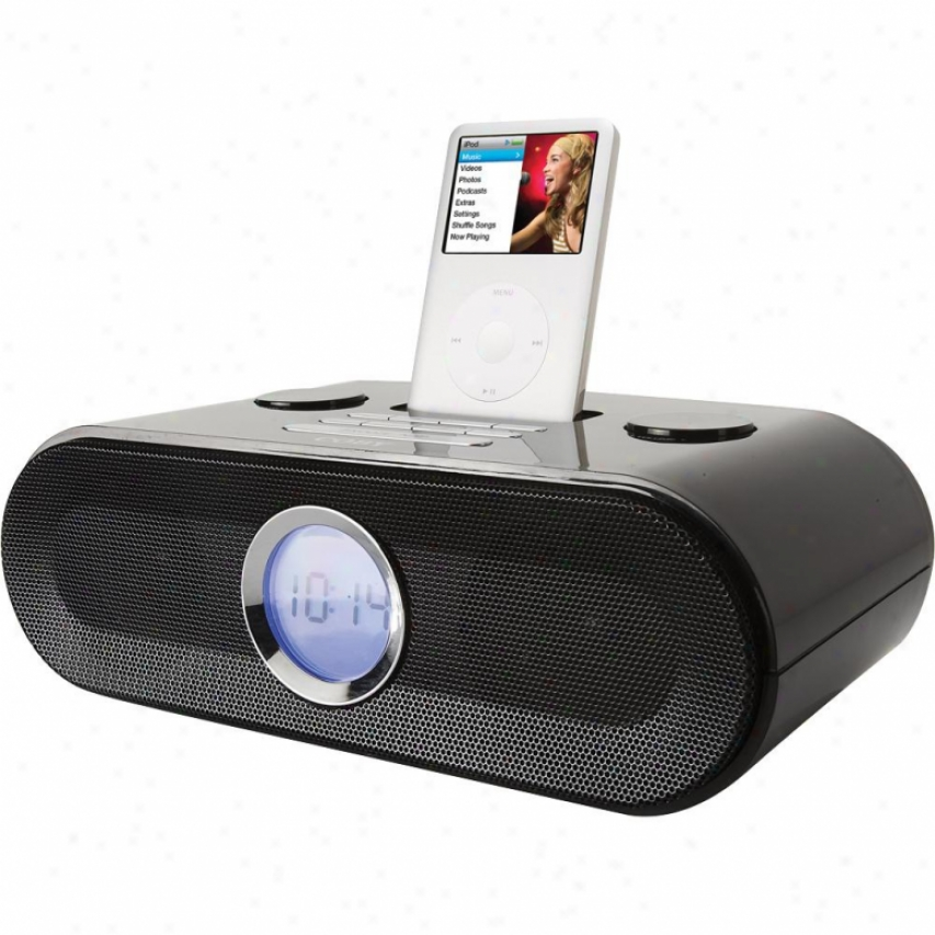 Coby Csmp125 Am/fm Clock Radio With Ipod Dock