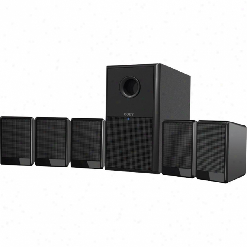 Coby Csp97 5.1 Channel Home Theater Speaker System