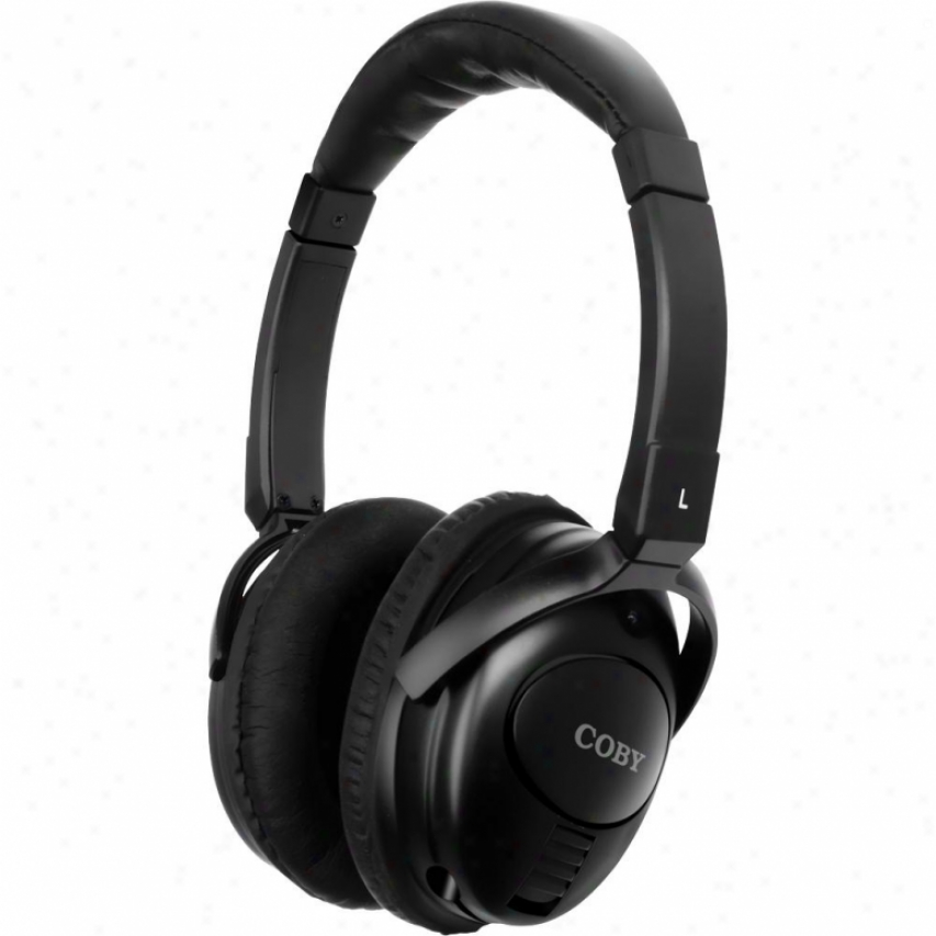 Coby Cv195 Noise-canceling Stereo Headphones