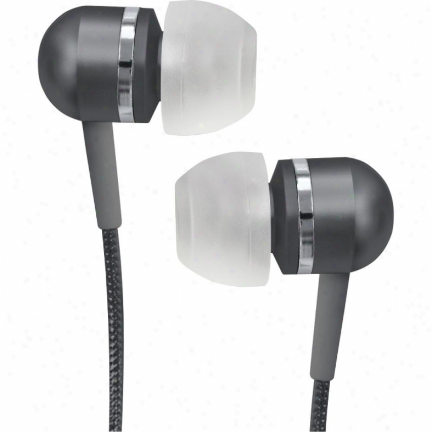 Coby Cvem79 High-performance Isolatioj Stereo Earphones - Black