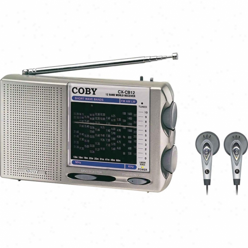 Coby Cx-cb12 Pocket Radio