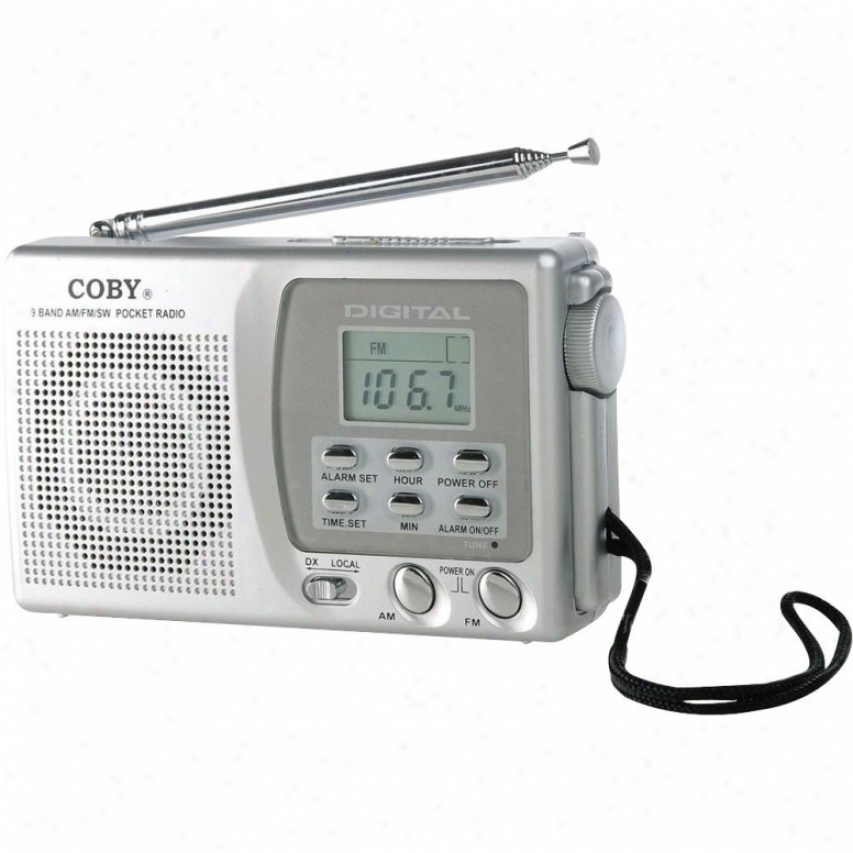 Coby Cx-cb91 9-band Shortwave Radio