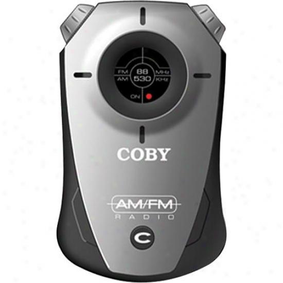Coby Cx71 Pocket Am/fm Radio - Black