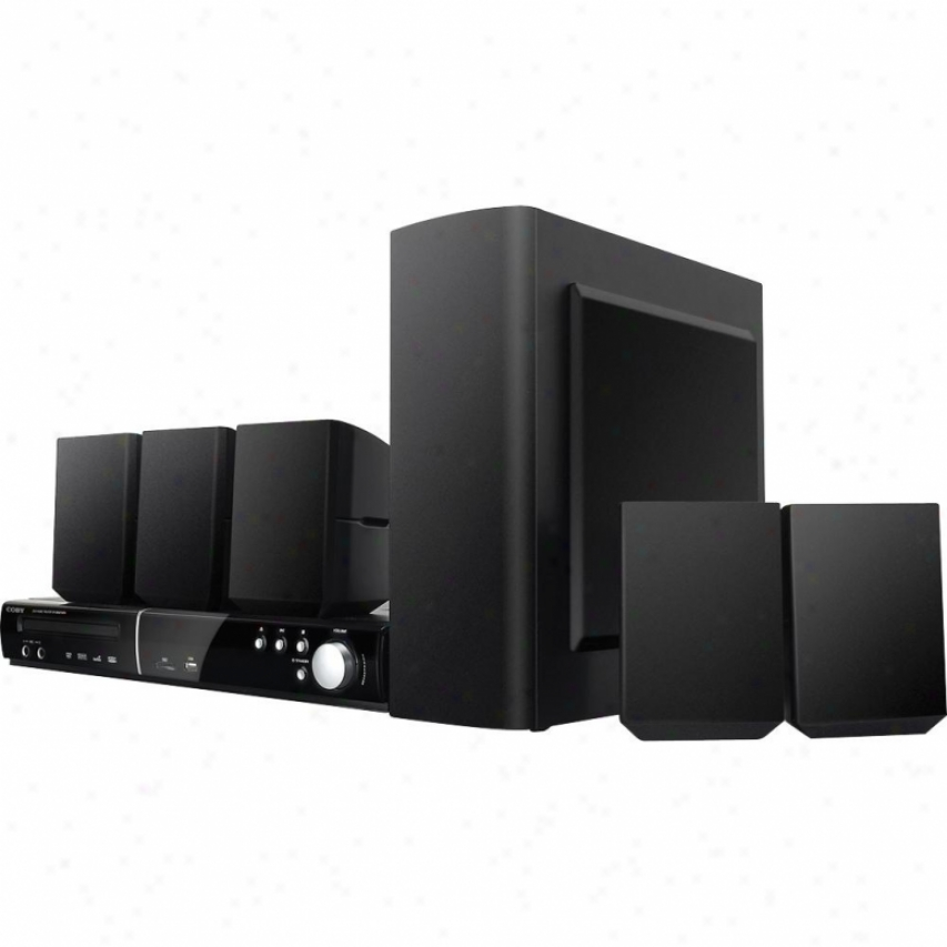 Coby Dvd938 5.1-channel Dvd Home Theater System With Digital Am/fm Tuner