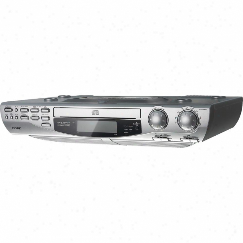 Coby Kcd150 Under Cabinet Cd Player And Radio