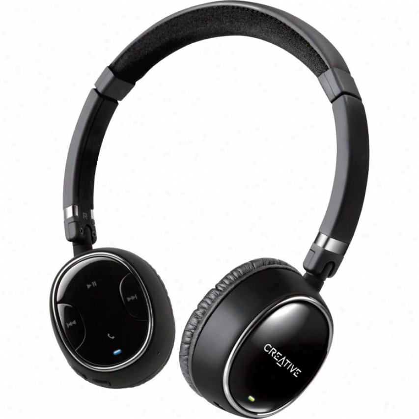 Creative Wp-350 Alert Bluetooth Headphones With Invisible Mic