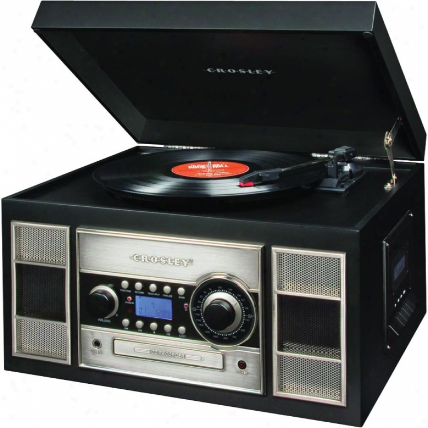 Crosley Corp. Memory Master Ii Lp To Cd Recorder - Black