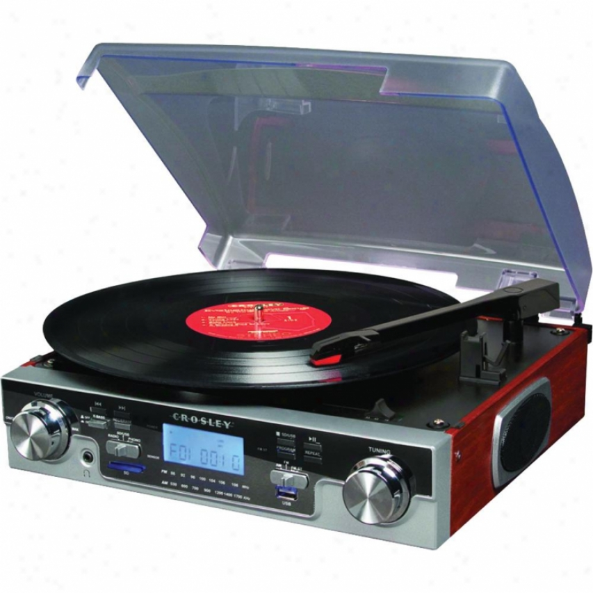 Crosley Corp. Tech Turntable - Mahogany