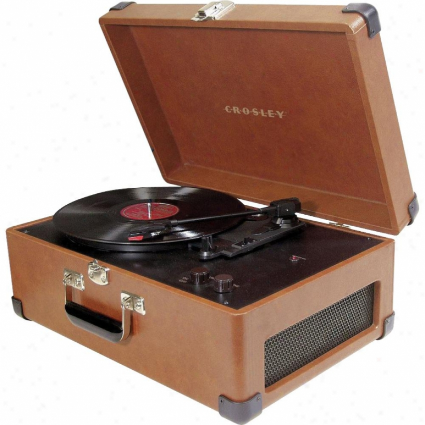 Crosley Corp. Traveler Turntable Convert into leather