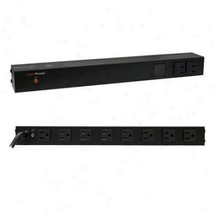 Cyberpower 15a Metered Pdu 1u 14out 5-15r